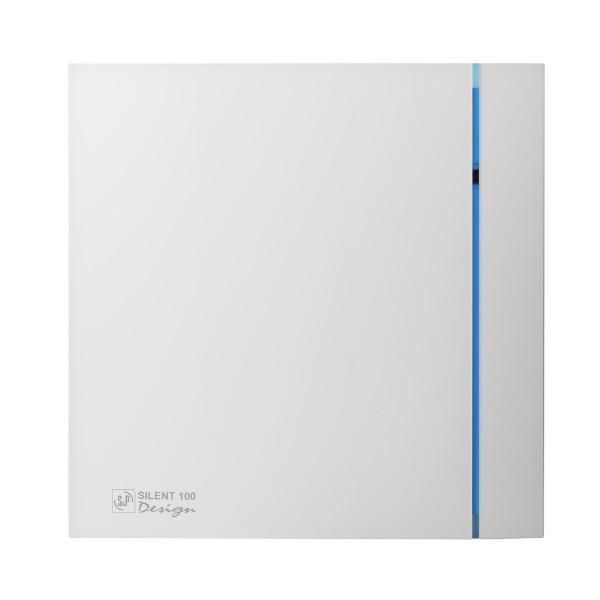 Вытяжной вентилятор Soler & Palau SILENT-100 CZ DESIGN White