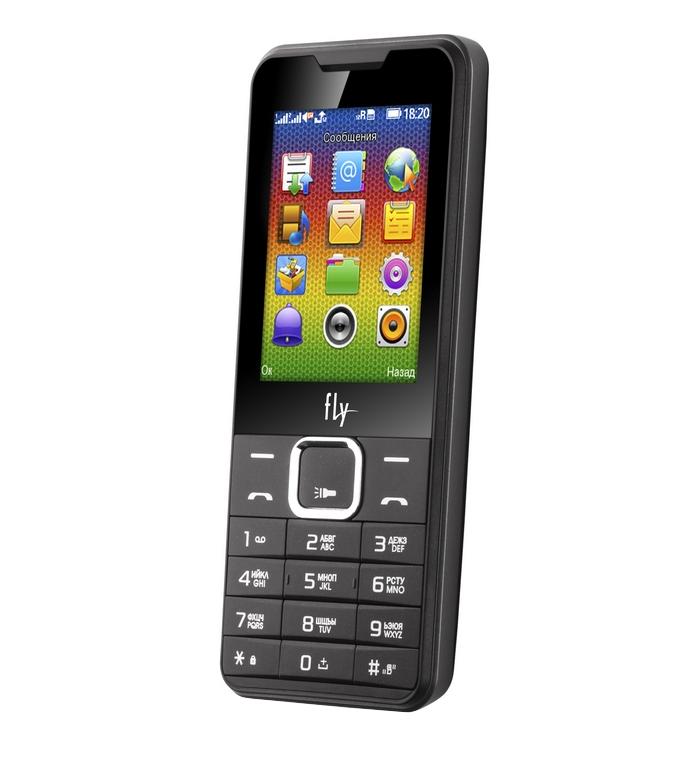 купить телефон самсунг галакси джи 1 2016 Сотовый телефон Fly FF243 Black