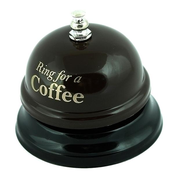 Звонок настольный Эврика Ring for a Coffe 95093