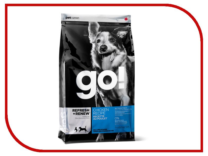 Купить Корм GO! Курица/Фрукты/Овощи 5.45kg для щенков 00901, Канада