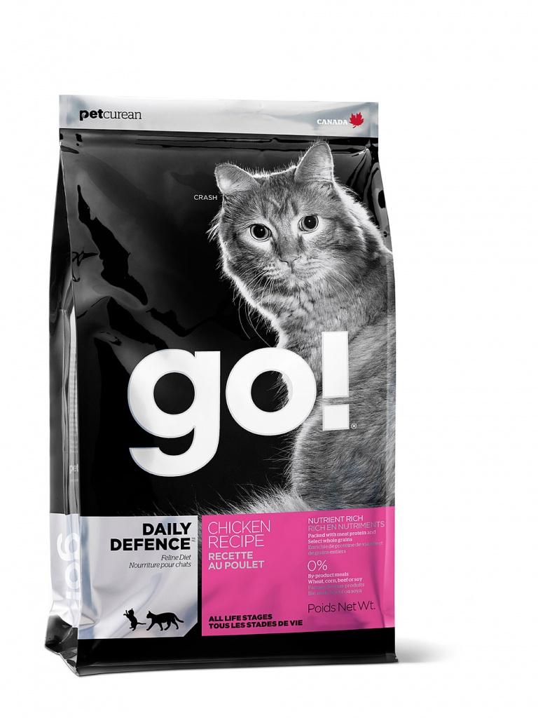 Купить Корм GO! Курица/Фрукты/Овощи 3.63kg для котят и кошек 00765, Канада