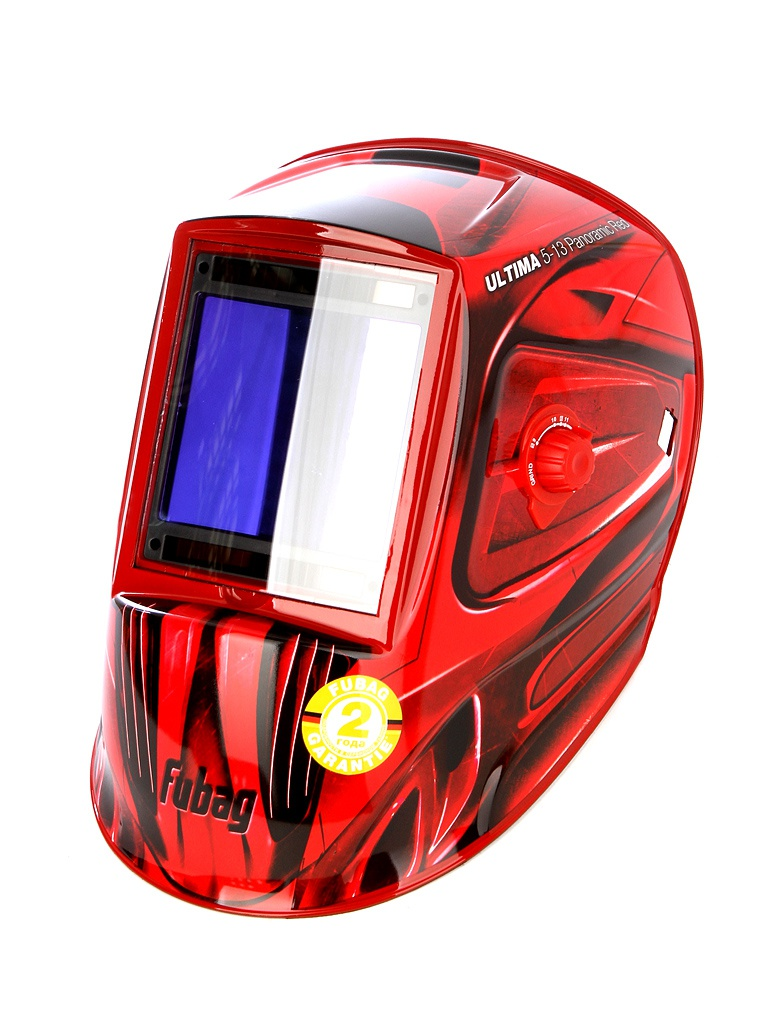 маска сварщика foxweld корунд 2 red Маска сварщика Fubag Ultima 5-13 Panoramic Red 992510