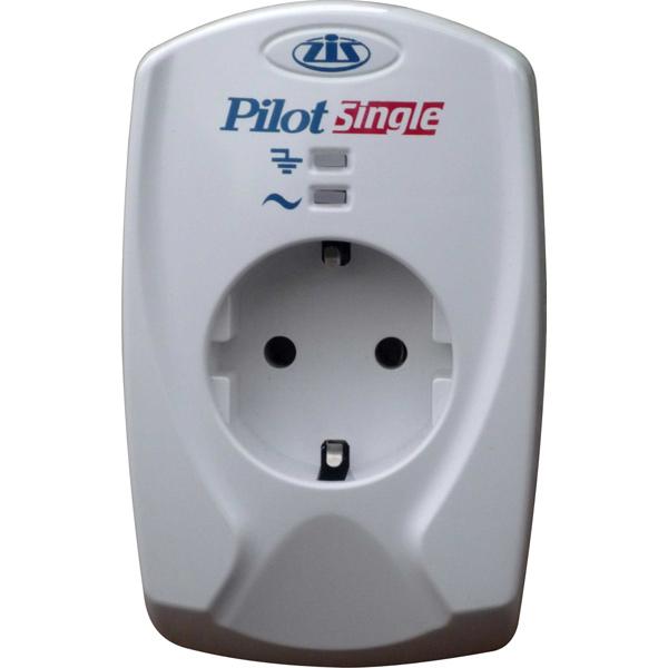 Сетевой фильтр Zis Pilot Single 1 Socket 033
