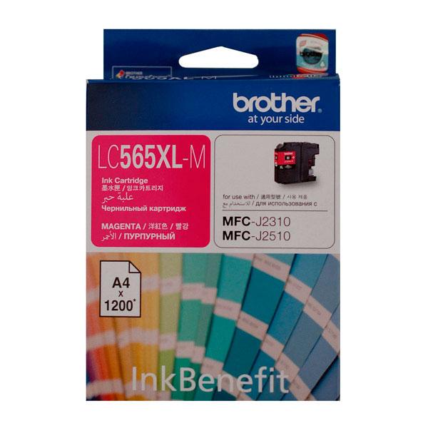 Картридж Brother LC565XLM Magenta для MFC-J2510/MFC-J2310/MFC-J3720/MFC-J3520