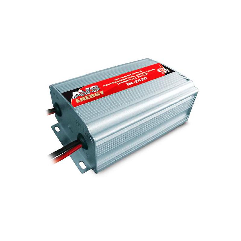 Автоинвертор AVS IN-2420 (20A) с 24В на 12В 43897