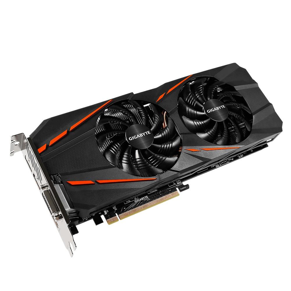 Купить Видеокарта GigaByte GeForce GTX 1060 1620Mhz PCI-E 3.0 6144Mb 8008Mhz 192 bit DVI HDMI HDCP GV-N1060G1 GAMING-6GD