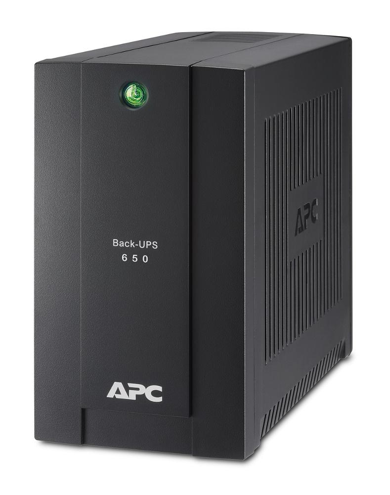 Источник бесперебойного питания APC Back-UPS RS 650VA 360W BC650-RSX761 ибп apc by schneider electric back ups 650ва bc650 rsx761
