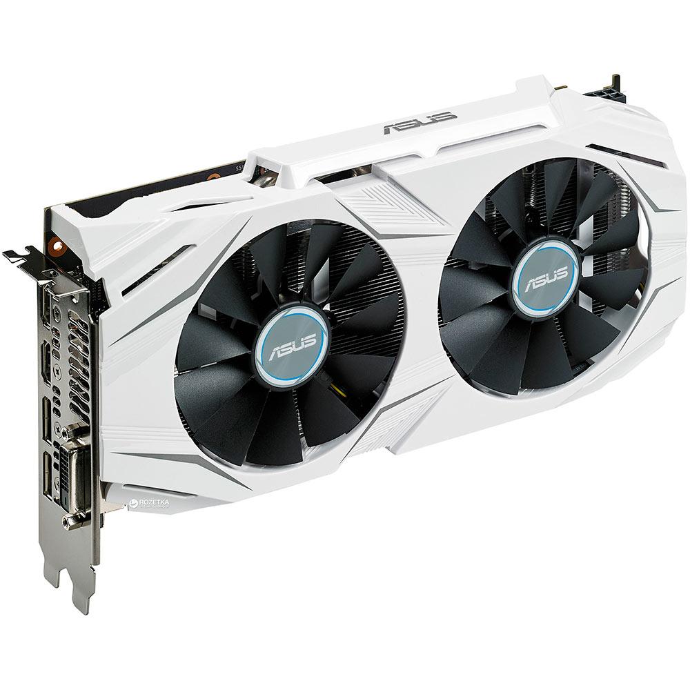 geforce gtx1060 zotac amp Видеокарта ASUS GeForce GTX 1060 1569Mhz PCI-E 3.0 6144Mb 8008Mhz 192 bit DVI HDMI HDCP DUAL-GTX1060-O6G