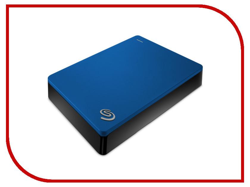 Жесткий диск Seagate Backup Plus Portable 4Tb Blue STDR4000901  - купить со скидкой