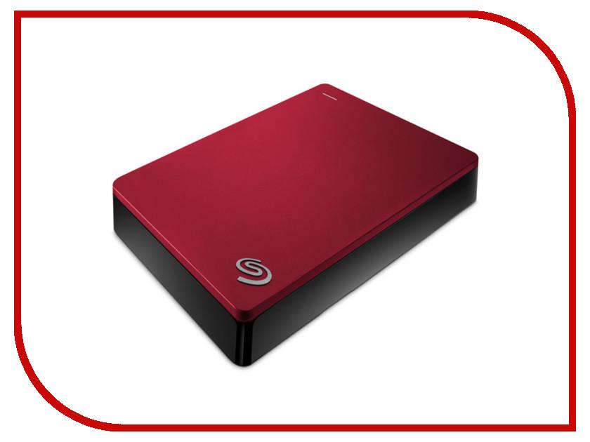 Жесткий диск Seagate Backup Plus Portable 4Tb Red STDR4000902  - купить со скидкой