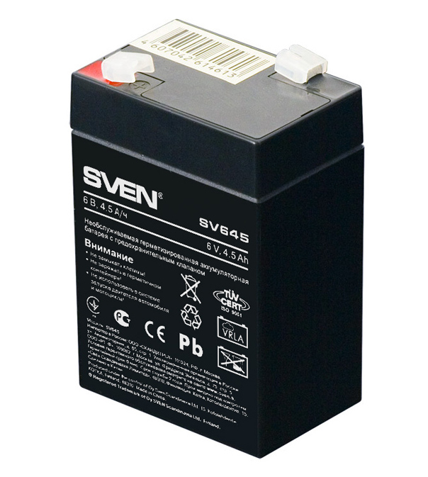 аккумулятор sven sv1290 Аккумулятор для ИБП Sven SV645 SV-0222064