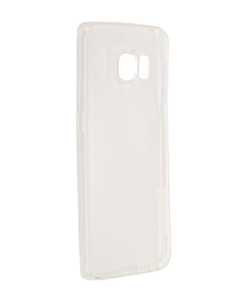 Купить Аксессуар Чехол Samsung Galaxy S6 Edge G925F Nillkin Nature TPU Transparent White