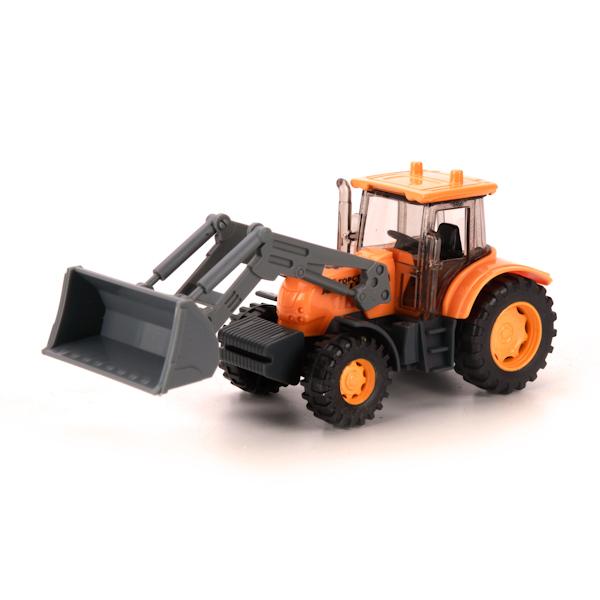 игрушка наша игрушка экскаватор снегоуборочный 6655 6 Игрушка Технопарк Экскаватор трактор U1401D-6