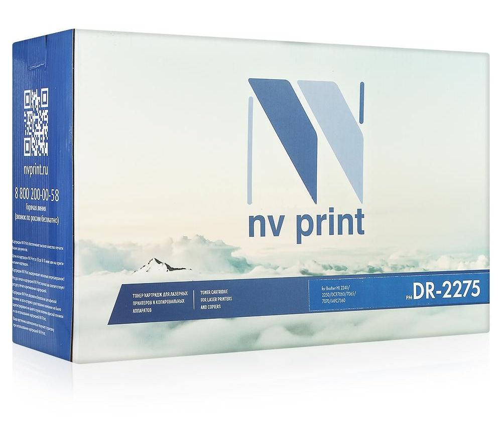 фотобарабан brother dr 2335 Фотобарабан NV Print DR-2275 для HL-2240/2250/DCP7060/7065/7070/MFC7360