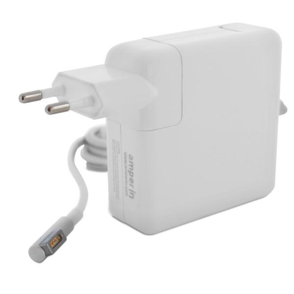 купить блок питания для автомагнитолы от сети 220 в Аксессуар Блок питания Amperin для APPLE AI-AP85 18.5V 4.6A MagSafe 85W