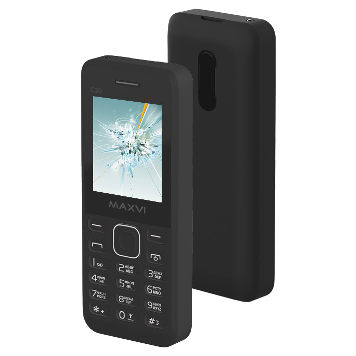 купить телефон самсунг галакси джи 1 2016 Сотовый телефон Maxvi C20 Black