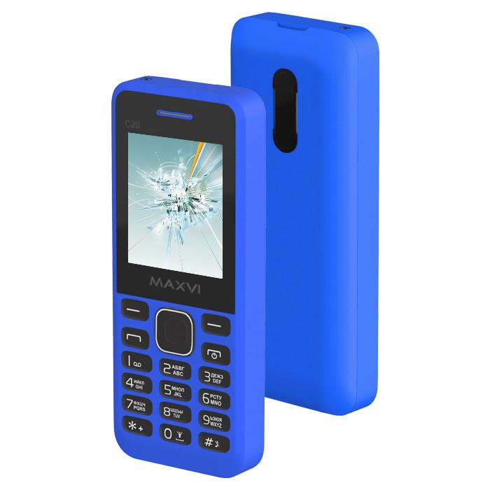 купить телефон самсунг галакси джи 1 2016 Сотовый телефон Maxvi C20 Blue