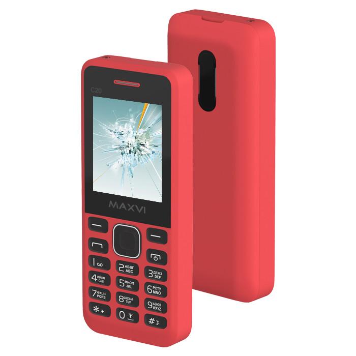 купить телефон самсунг галакси джи 1 2016 Сотовый телефон Maxvi C20 Red