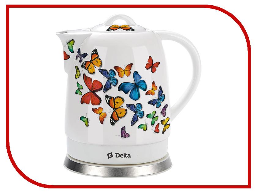 Чайник Delta DL-1233A Butterflies  - купить со скидкой