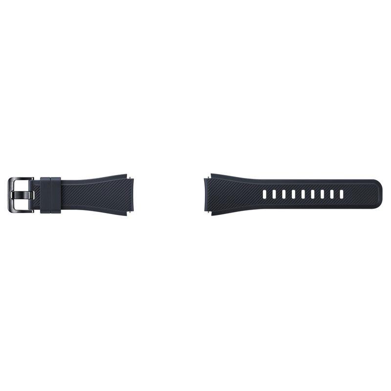 часы цена самсунг gear s Аксессуар Ремешок Samsung ET-YSU76MBEGRU для Gear S3 Frontier / Gear S3 Classic Black