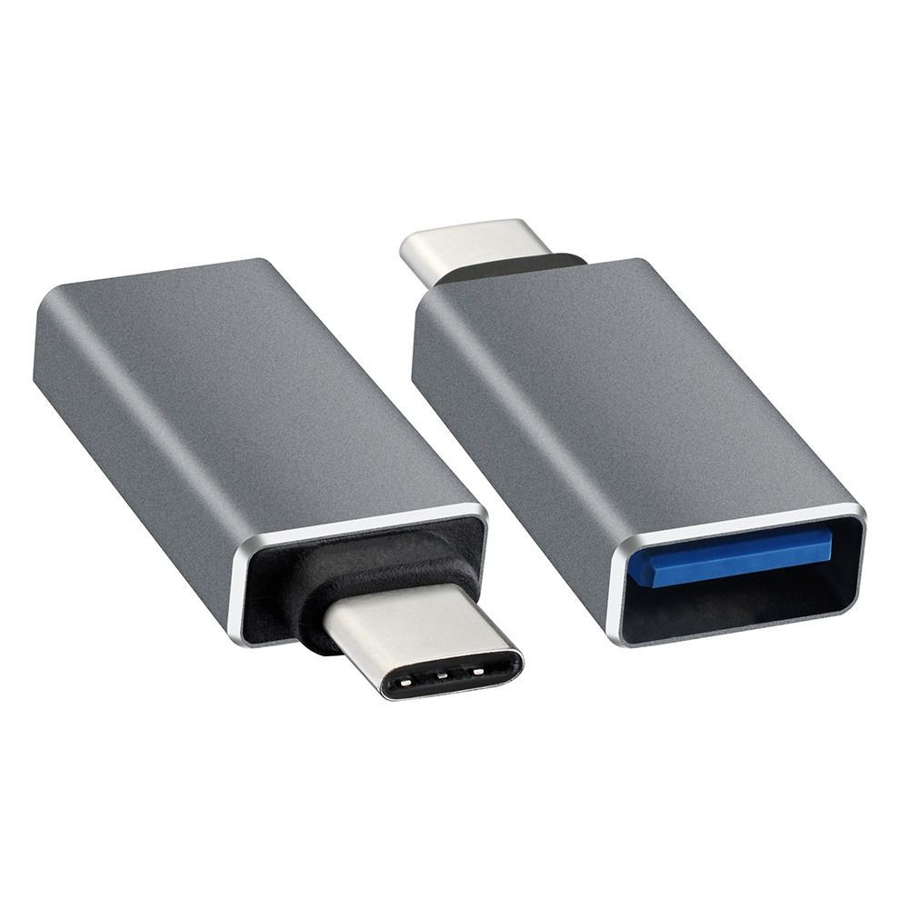 Фото - Аксессуар Brosco OTG USB Type-C Black ADAPTER-BLACK high quality 8 pin to usb female otg adapter for ipad 4 mini