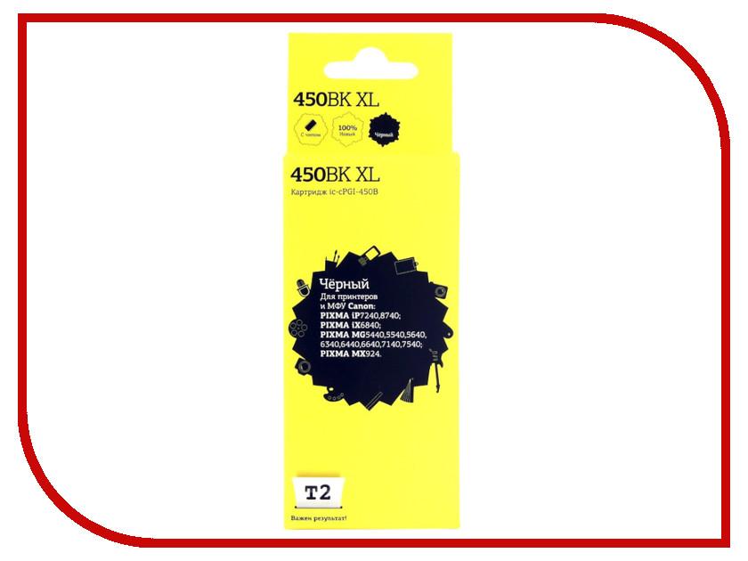 Купить Картридж T2 IC-CPGI-450B XL для Canon Pixma iP7240/MG5440/6340/MX924 Black