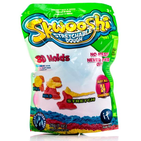 пластишка тесто для лепки Набор для лепки Skwooshi 28g S30000