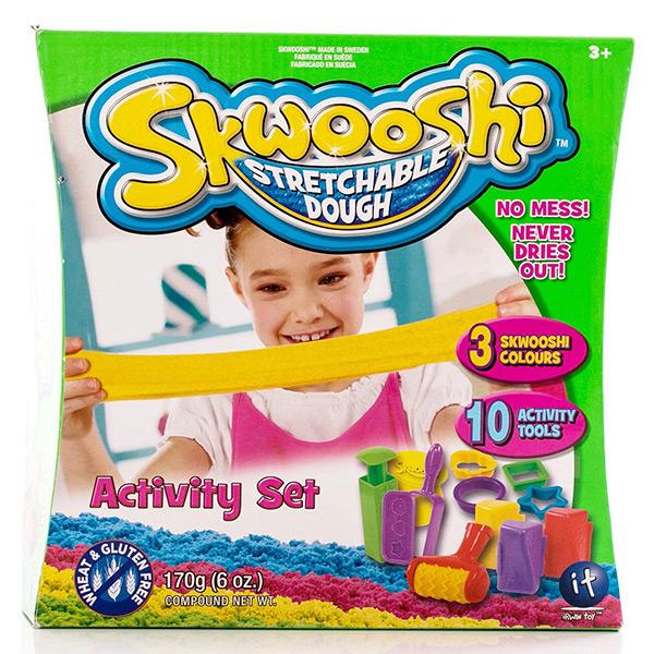 пластишка тесто для лепки Набор для лепки Skwooshi S30004