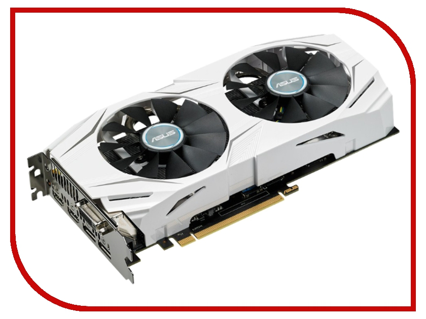 Купить Видеокарта ASUS GeForce GTX 1060 1506Mhz PCI-E 3.0 3072Mb 8008Mhz 192 bit DVI 2xHDMI HDCP DUAL-GTX1060-3G