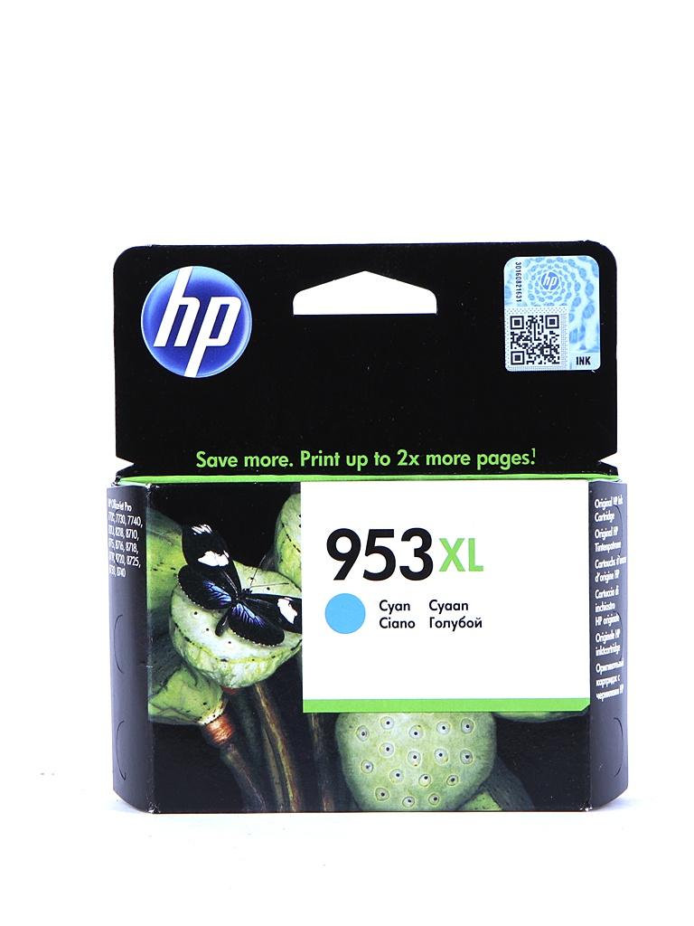 картридж hp 920xl officejet cd972ae cyan для 6000 6500 7000 Картридж HP 953XL F6U16AE Cyan