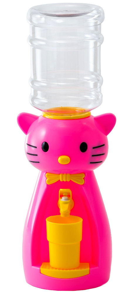 Кулер настольный Vatten Kids Kitty со стаканчиком Pink 4918