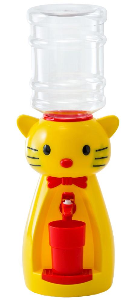 Кулер настольный Vatten Kids Kitty со стаканчиком Yellow 4919