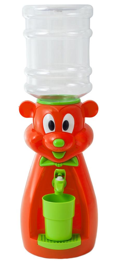 Кулер настольный Vatten Kids Mouse со стаканчиком Orange 4914