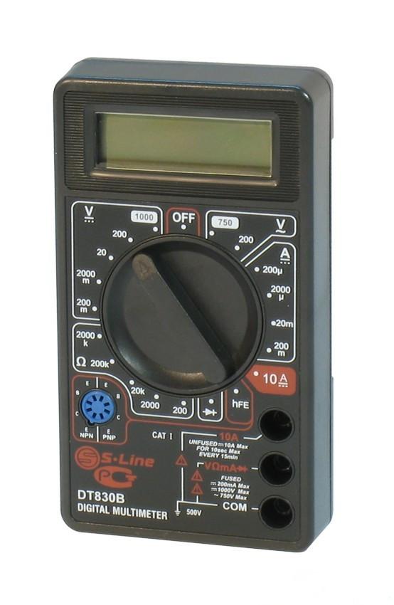 купить мультиметр dt 832 Мультиметр S-Line DT-830B