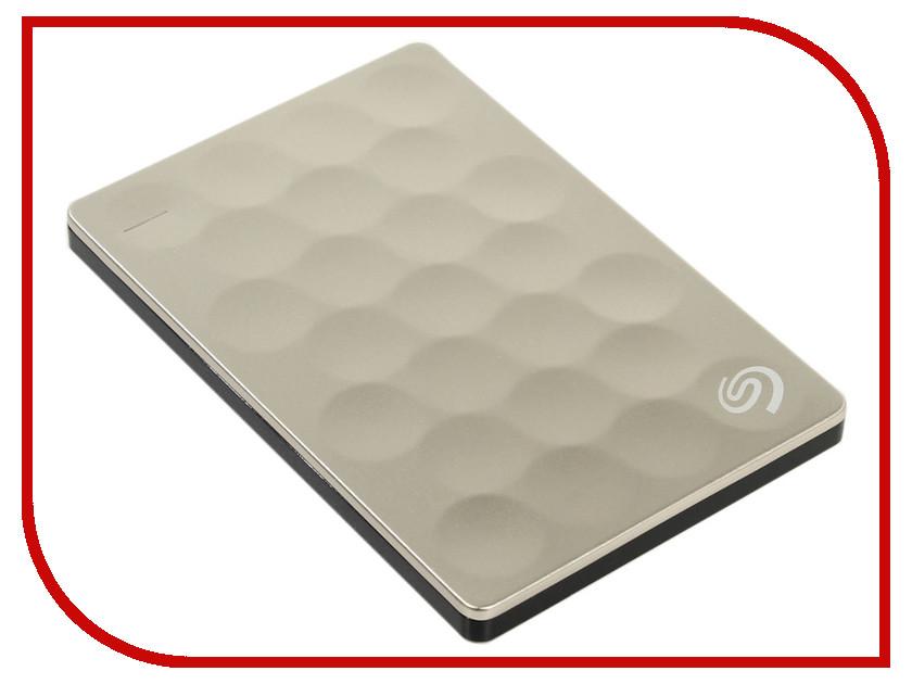 Купить Жесткий диск Seagate Backup Plus Ultra Slim 2Tb Gold STEH2000201