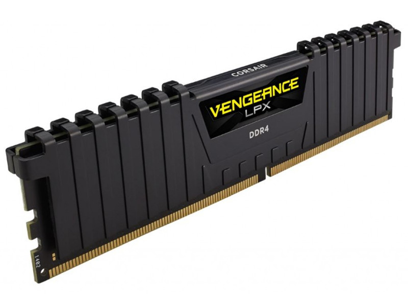 Модуль памяти Corsair Vengeance LPX DDR4 DIMM 2400MHz PC4-19200 CL14 - 8Gb CMK8GX4M1A2400C14 / CMK8GX4M1A2400C14R модуль памяти corsair vengeance lpx ddr4 dimm 2400mhz pc4 19200 cl14 16gb kit 2x8gb cmk16gx4m2a2400c14