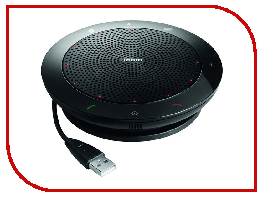 Купить VoIP оборудование Jabra Speak 510+ UC Bluetooth USB NC WB Link 360 UC 7510-409
