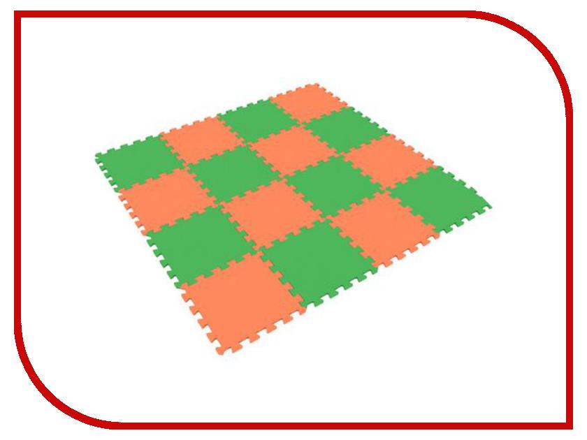 Купить Развивающий коврик Экопромторг Мягкий пол для детской Orange-Green 25МП1/8, Мягкий пол для детской 25МП1/8