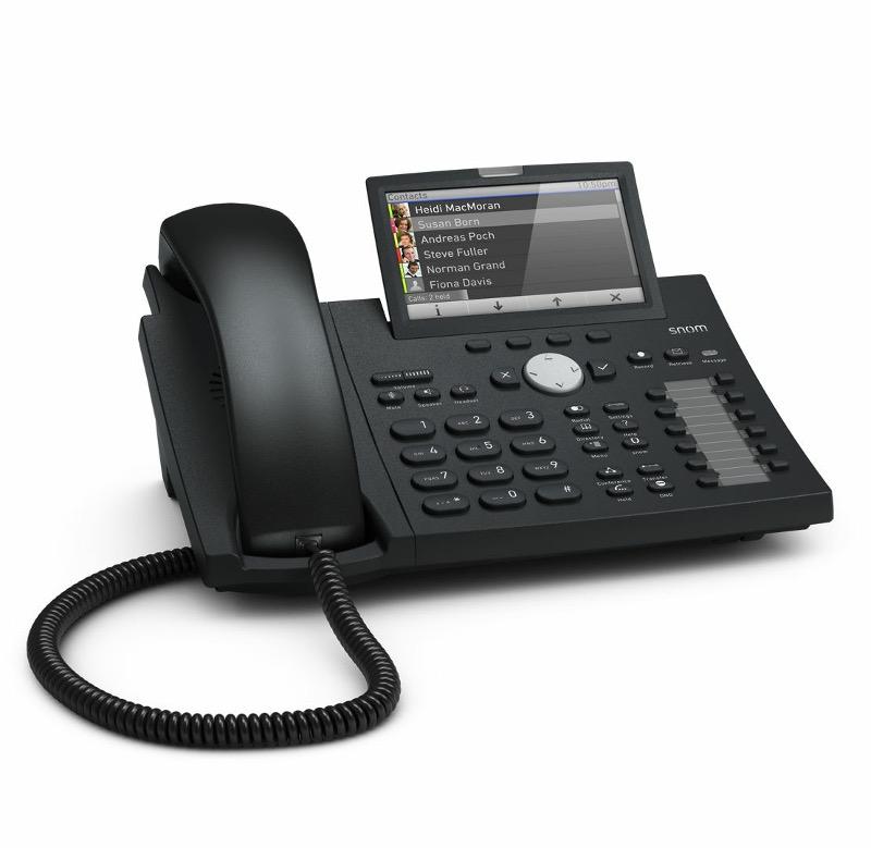 VoIP оборудование Snom D375