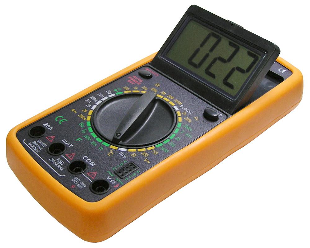 Мультиметр S-Line DT-9205A мультиметр s line va20