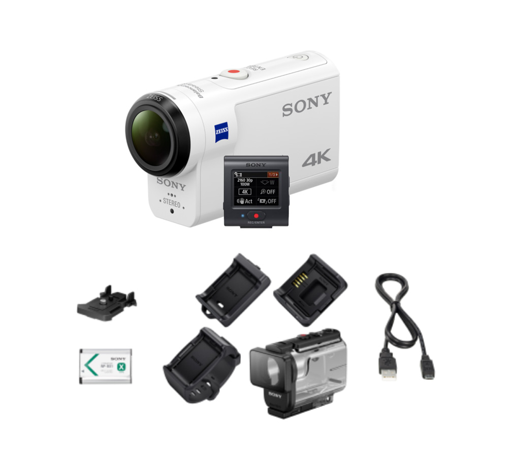 ip камера hikvision ds 2cd2543g0 is 4mm Экшн-камера Sony FDR-X3000R