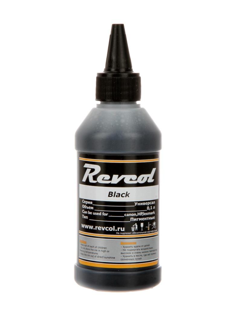 Чернила Revcol Универсал для HP/Canon 100ml Black Pigment