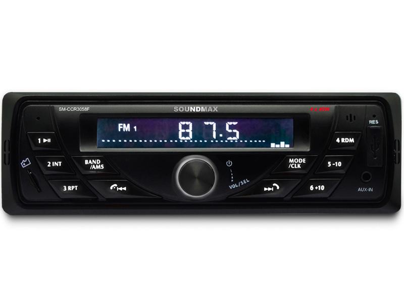 sm j530fm Автомагнитола Soundmax SM-CCR3058F