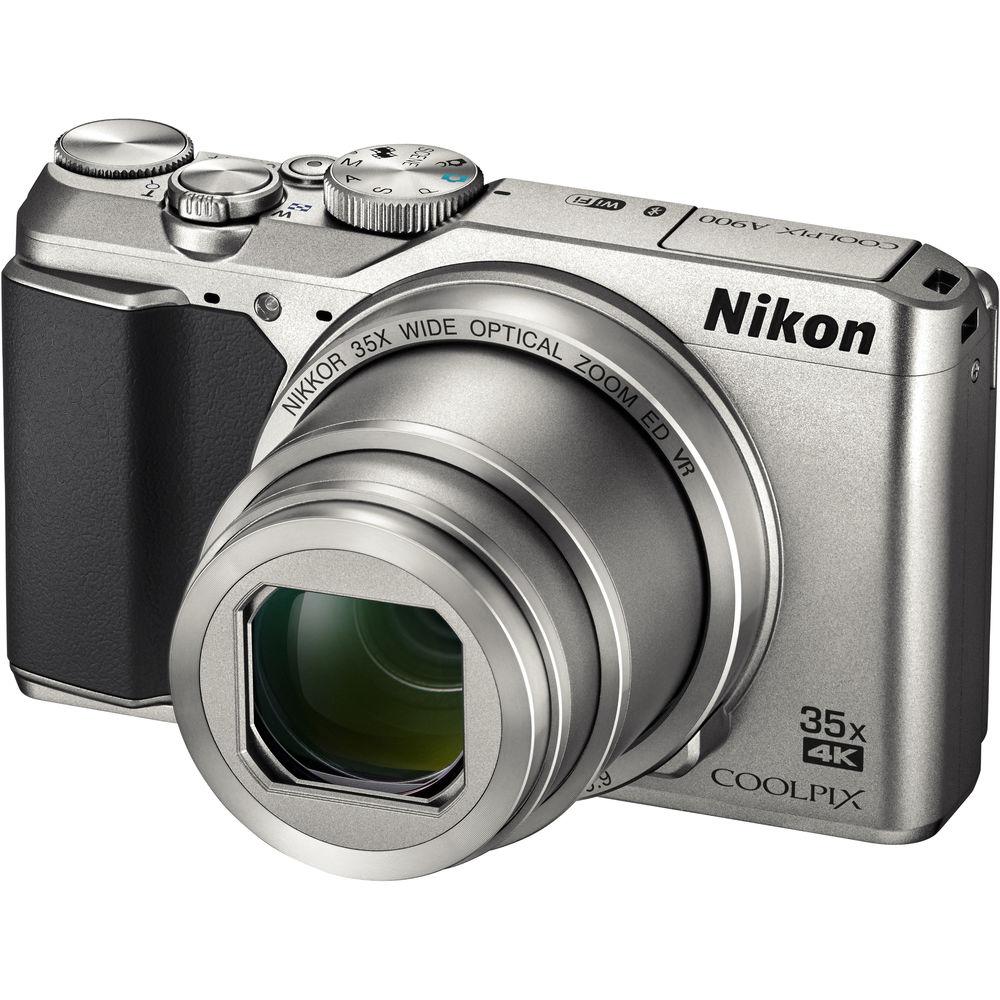 конструктор фотоаппарат Фотоаппарат Nikon A900 Coolpix Silver