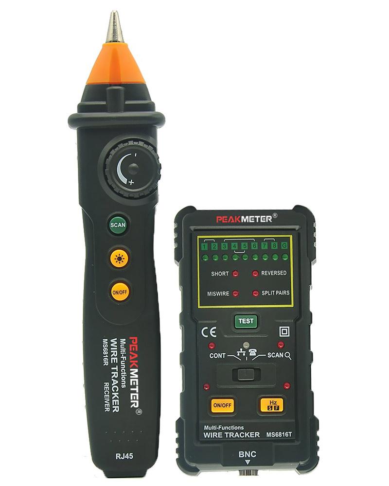 Трассоискатель PeakMeter MS6816 / PM6816