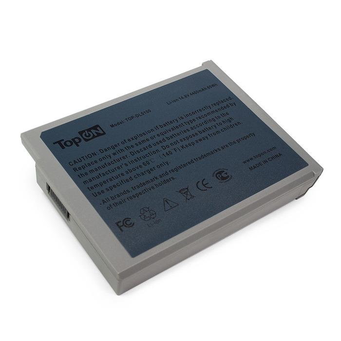 блок питания topon top dl45 19 5v 2 31a 4 5x3 0mm 45w для dell xps 12 duo 13 inspiron 11 13 14 15 hp split 13 series Аккумулятор TopON TOP-DL5100 14.8V 4400mAh для Dell Inspiron 1100/5100/Dell Latitude 100L 312-0296/312-0079/310-5205/310-5206/451-10117/451-10183/6T473/7T670/8Y849/9T686/BATDW00L/F0590A01/J2328