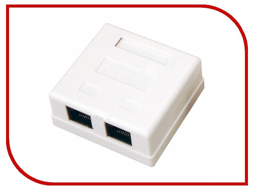 Купить Розетка Rexant 2 Sockets RJ-45 CAT5e 03-0151