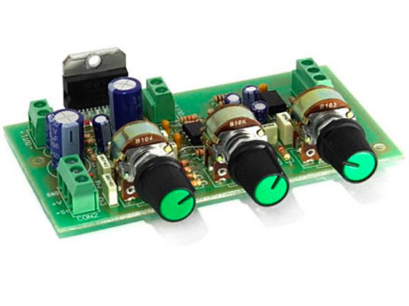 Конструктор Радио КИТ УНЧ RS160 стерео 2х30 Вт