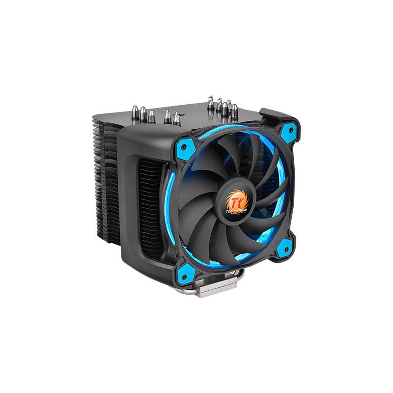 Кулер Thermaltake Cooler Riing Silent 12 Pro Blue CL-P021-CA12BU-A (Intel LGA 2011-3/2011/1366/1156/1155/1151/1150/775/AMD FM2/FM1/AM3+/AM3/AM2+/AM2)