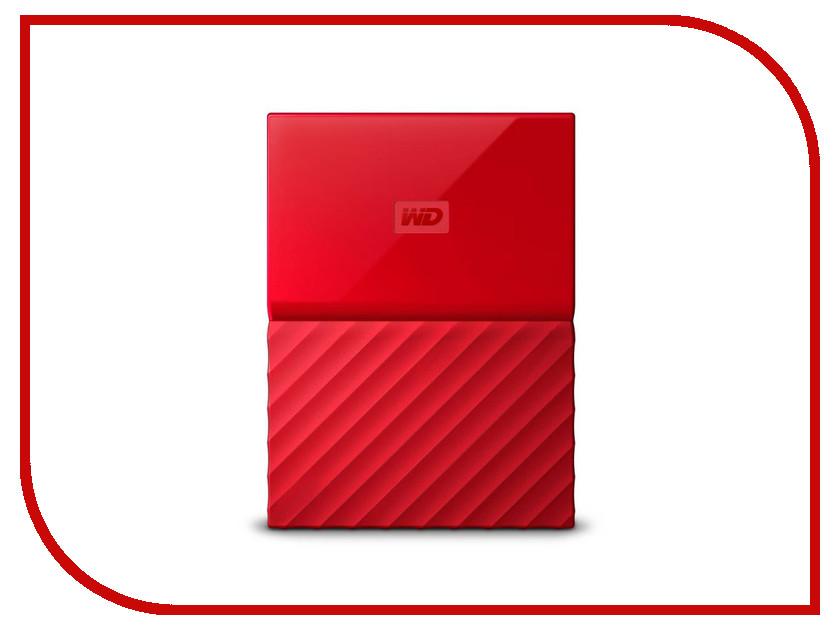 Купить Жесткий диск Western Digital My Passport 4Tb Red WDBUAX0040BRD-EEUE